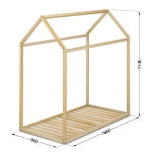 medidas casita cama montessori