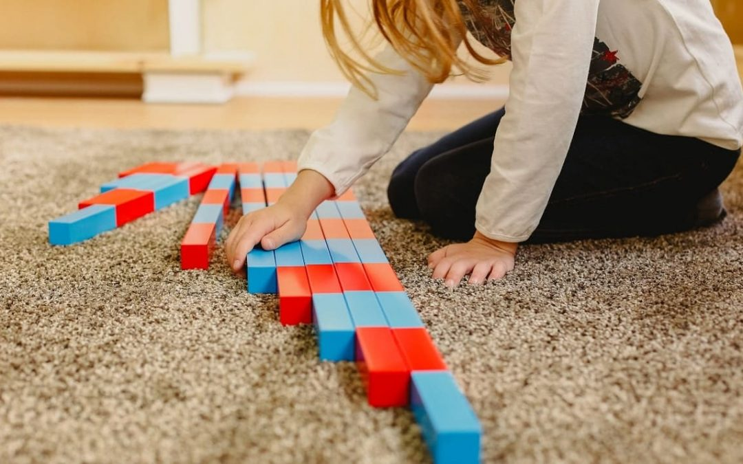 Aprender matemáticas con materiales montessori